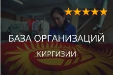 Соберу базу организаций с e-mail по отраслям, парсинг Яндекс карт 23 - kwork.ru
