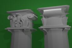 Создание и визуализация 3D модели 32 - kwork.ru