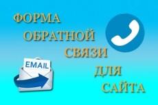 Настрою форму обратной связи 13 - kwork.ru