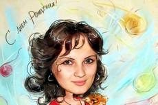 нарисую Ваш портрет по фото. техника (графика,гуашь,цветные карандаши) 8 - kwork.ru