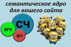 Добавлю сайт в Яндекс Вебмастер и Google Search Console 10 - kwork.ru