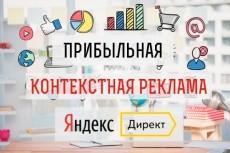 Грамотно настрою рекламную кампанию в Яндекс.Директ (100 объявлений) 20 - kwork.ru