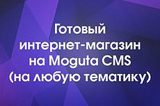 Готовый Интернет-магазин на Moguta CMS Гипермаркет 3 - kwork.ru