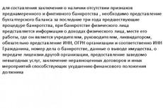 Составление заявления на банкротство физ. лица 11 - kwork.ru