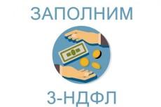 Быстро и качественно заполню 3-НДФЛ вместе с заявлением на вычет 11 - kwork.ru