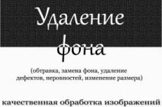 Удаление дефектов с лица 14 - kwork.ru