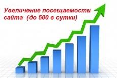 Более 2000 уникальных посетителей из поисковых систем на Ваш сайт 6 - kwork.ru