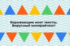 Текст рекламного материала - рассылка, презентация, кит, буклет 11 - kwork.ru