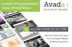 Блог о еде и рецептах, Journey Of Taste, премиум тема Wordpress 20 - kwork.ru
