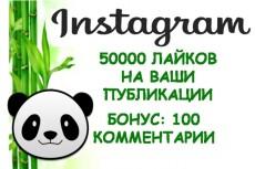 30000 лайков на Ваши публикации в инстаграм 3 - kwork.ru