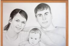 Сделаю наброски карандашом 9 - kwork.ru