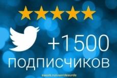 Добавлю 500 качественных фолловеров на Ваш аккаунт в твиттере 18 - kwork.ru
