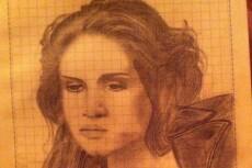 Нарисую портрет в карандаше 21 - kwork.ru