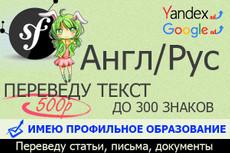 Переведу любой текст с английского языка 18 - kwork.ru