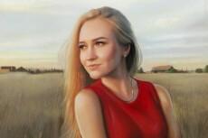 Картина, рисунок из вашего фото 14 - kwork.ru