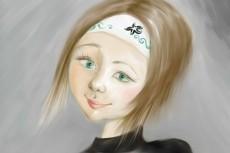 Рисунок - портрет 34 - kwork.ru