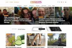 WordPress - Автонаполняемый спортивный сайт - Sport News 20 - kwork.ru