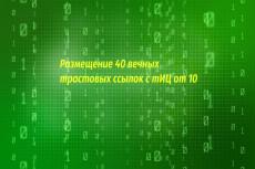 Размещу 900 вечных трастовых ссылок с тиц от 10-ти 8 - kwork.ru