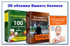 Упаковка, обложка 21 - kwork.ru