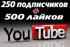 250 лайков на видео YouTube от людей 40 - kwork.ru