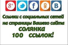 100 ссылок на Ваш сайт со страниц Твиттера 13 - kwork.ru