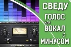 Сведение аудио трека, аудио материала 14 - kwork.ru