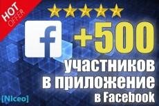 Добавлю 1500 участников в группу на Facebook 13 - kwork.ru