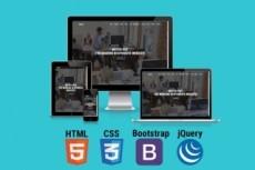 Верстка Bootstrap 25 - kwork.ru