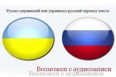 Качественно переведу с украинского на русский/с русского на украинский 23 - kwork.ru