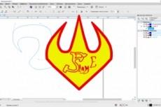 Качественный лого по вашему рисунку. Ваш логотип в векторе 10 - kwork.ru