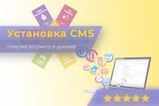 Установлю любую CMS на хостинг. Нет хостинга подарим 16 - kwork.ru