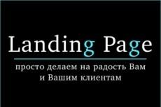 Убойный дизайн лендинга + продающий текст 22 - kwork.ru