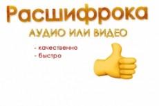 Расшифровка видео и аудио файлов 12 - kwork.ru