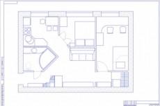 Выполню планировку и перепланировку квартиры 25 - kwork.ru