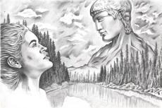 Сделаю из ваших фото рисунок карандашом 14 - kwork.ru