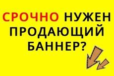 сделаю баннеры для вашего сайта 13 - kwork.ru