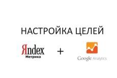 Установка Яндекс Метрики + настройка целей + дашборд 31 - kwork.ru