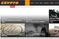 Автонаполняемый новостной сайт - World News - на WordPress 4 - kwork.ru