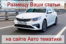 Напишу и размещу 2 статьи на двух сайтах женской тематики 9 - kwork.ru