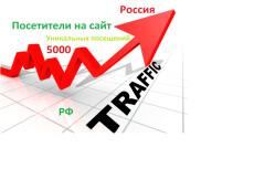 От 15000 качественных посещений из России 8 - kwork.ru