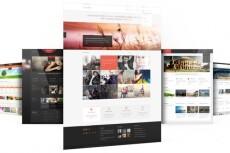 Верстка сайта по готовому PSD макету 15 - kwork.ru