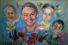 Нарисую шарж по фото 25 - kwork.ru