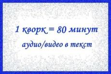 Наберу текст из любого источника, качественно 3 - kwork.ru