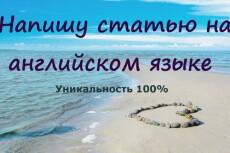 Напишу статьи различной тематики на русском и английском 10 - kwork.ru