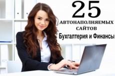 Авто сайт + 80 новостей, граббер, автонаполнения 36 - kwork.ru