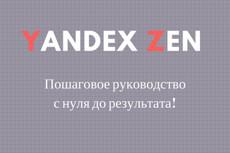 Яндекс Дзен Пошаговый Видеокурс 6 - kwork.ru