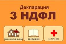 Декларации, отчетность в ПФР, ФСС, ИФНС, Росстат 13 - kwork.ru