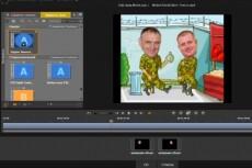 Смонтирую видеоролик из ваших материалов или подберу их сама 5 - kwork.ru