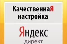 Настрою рекламную кампанию в Яндекс или Google 20 - kwork.ru
