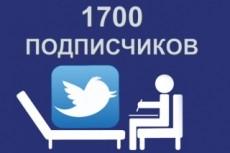 1000 подписчиков в Twitter. Безопасно. Офферы 17 - kwork.ru